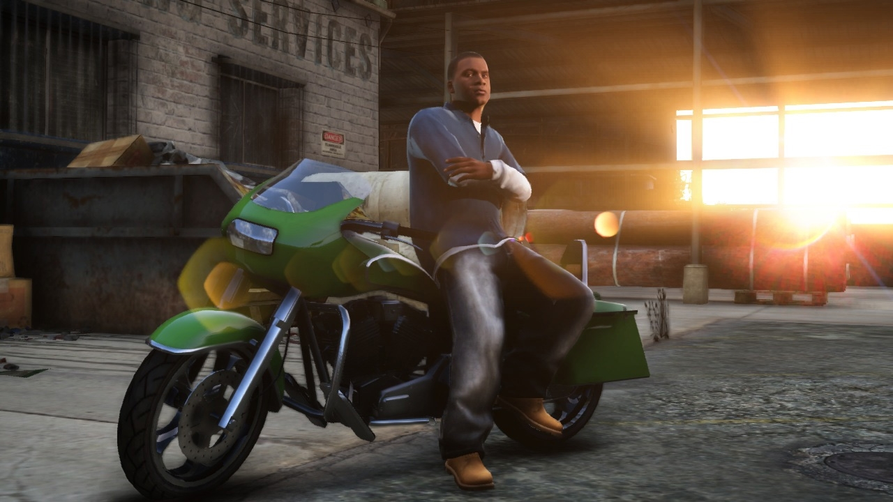 Bikes In Gta 5 With Flames Image