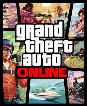 Grand Theft Auto Online Fan Box Art