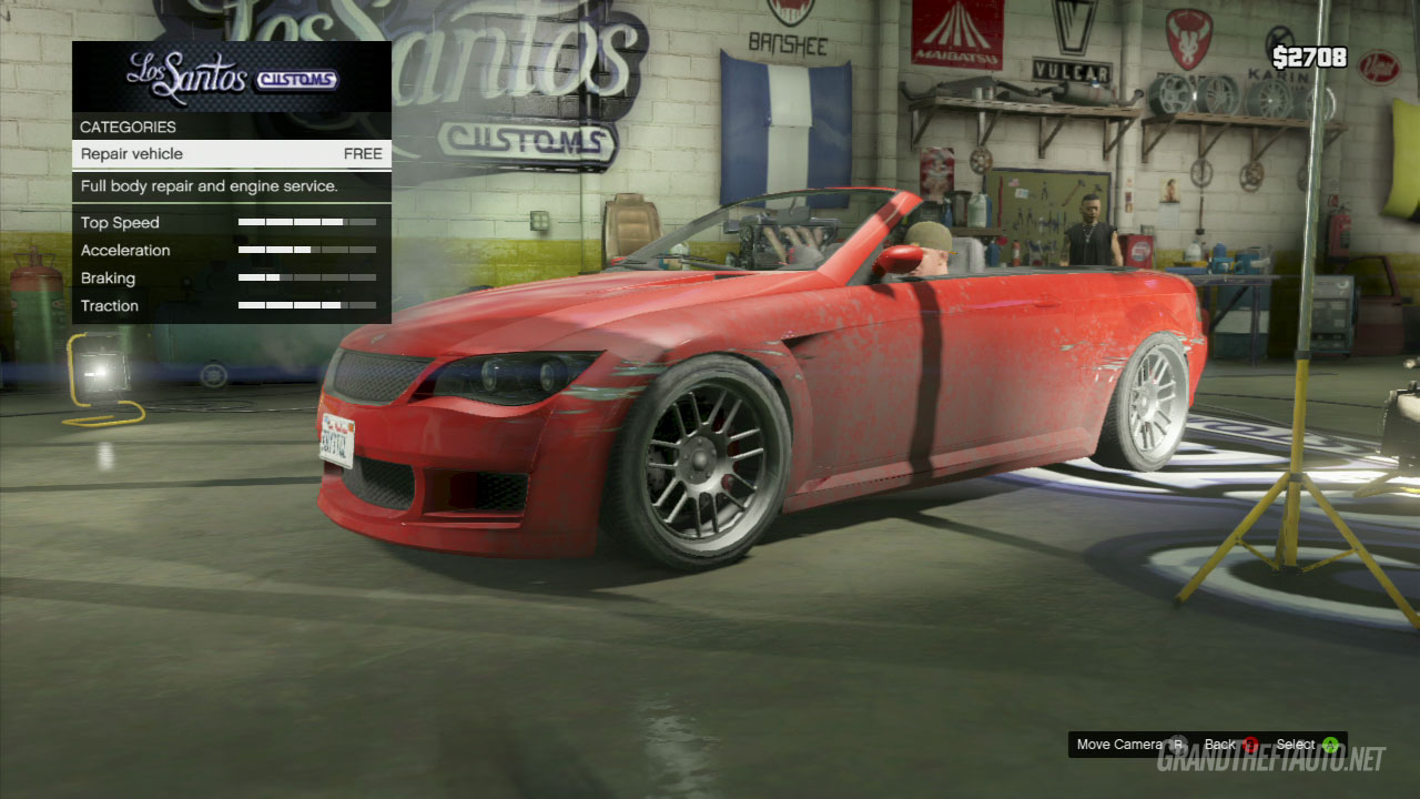 Gta V Get Amanda S Car Repaired