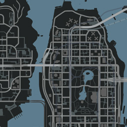 Grand Theft Auto Iv Map Liberty City