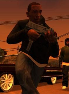 GTA San Andreas : Characters