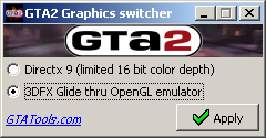 GTA2 renderer Switcher