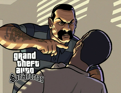 GTA San Andreas : Artwork Gallery