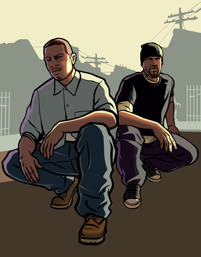 GTA San Andreas : Artwork Gallery