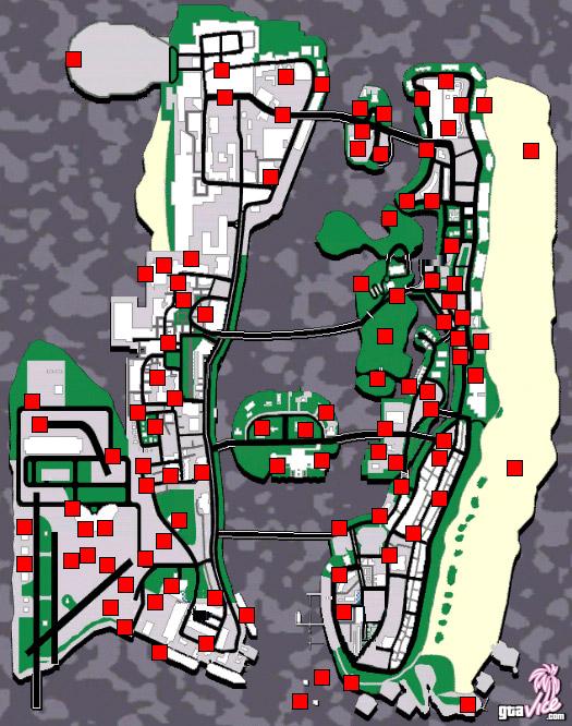 Карта гта васити сто пакетов