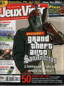 Jeux Video Magazine October Issue Grand Theft Auto San Andreas Preview