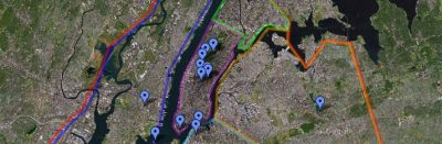 GTA IV Google Mapped