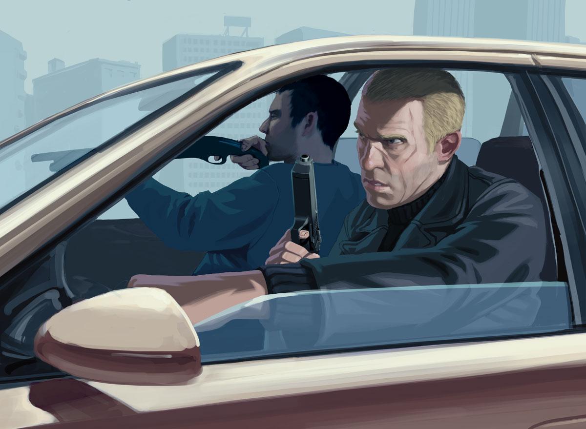Home Design Story Cheats Grand Theft Auto Iv Artwork Official Art Illustrations
