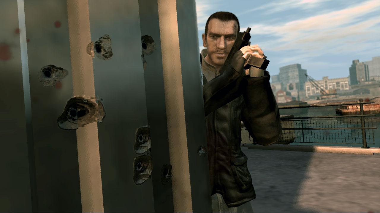 Персонажи. Иллюстрации GTA 4 от. Видео Прохождение.