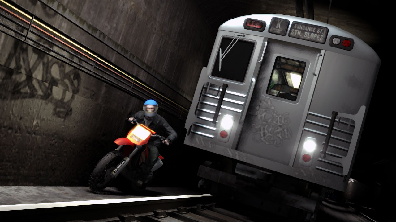 Gta Iv Screenshot Subway Escape on Grand Theft Auto 5