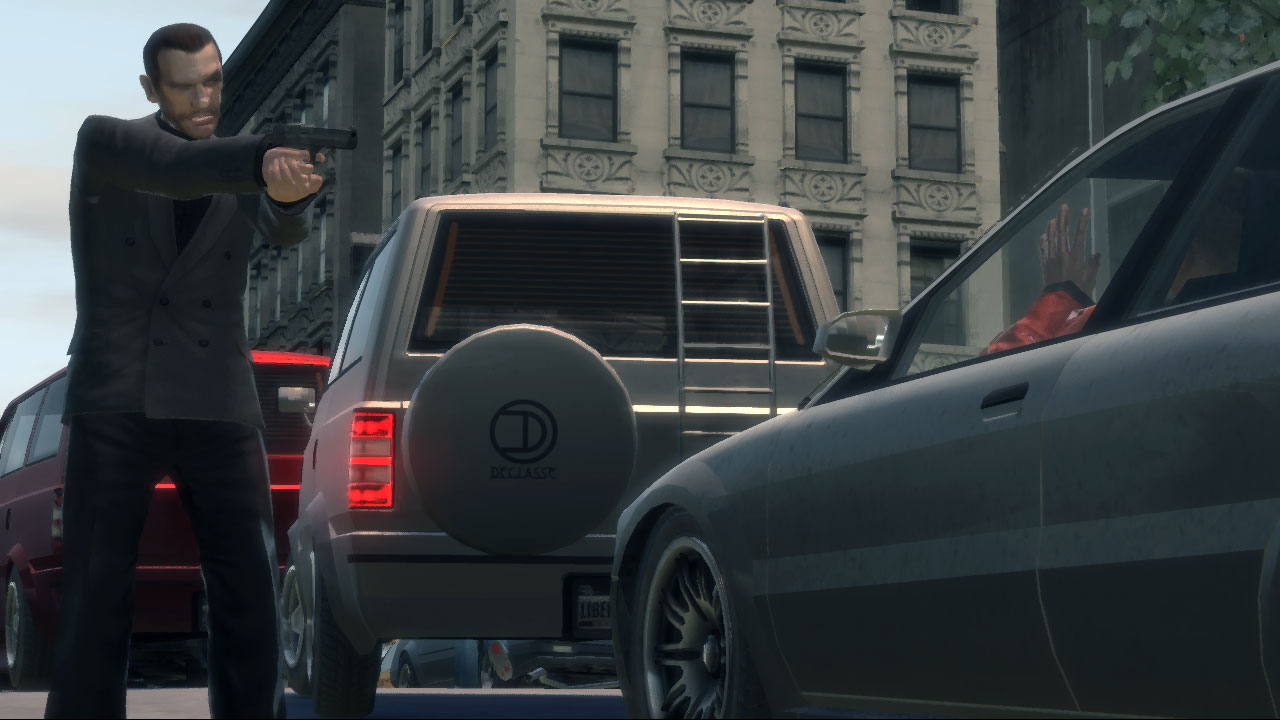 Gta iv stylish car jacking