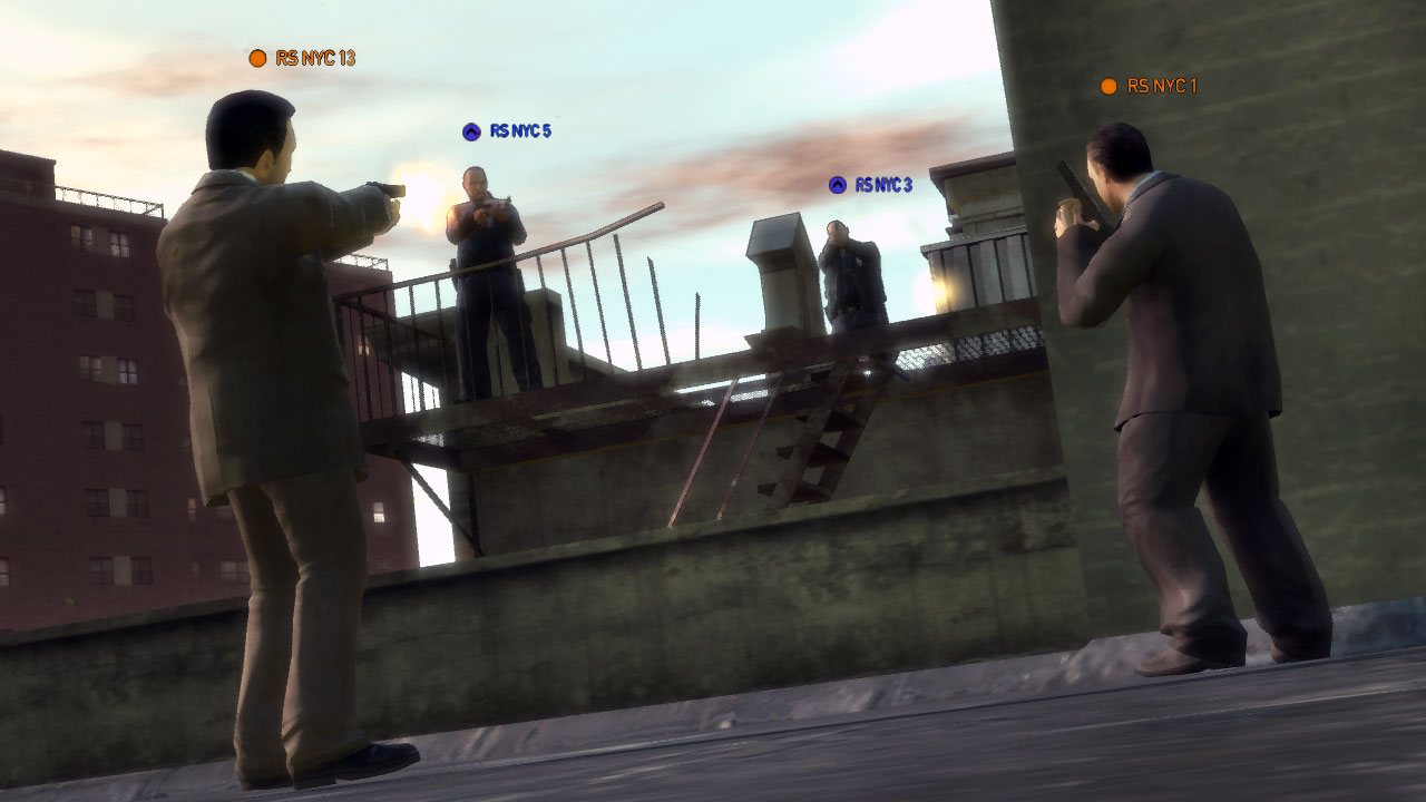 GRAND THEFT AUTO IV - Multiplayer