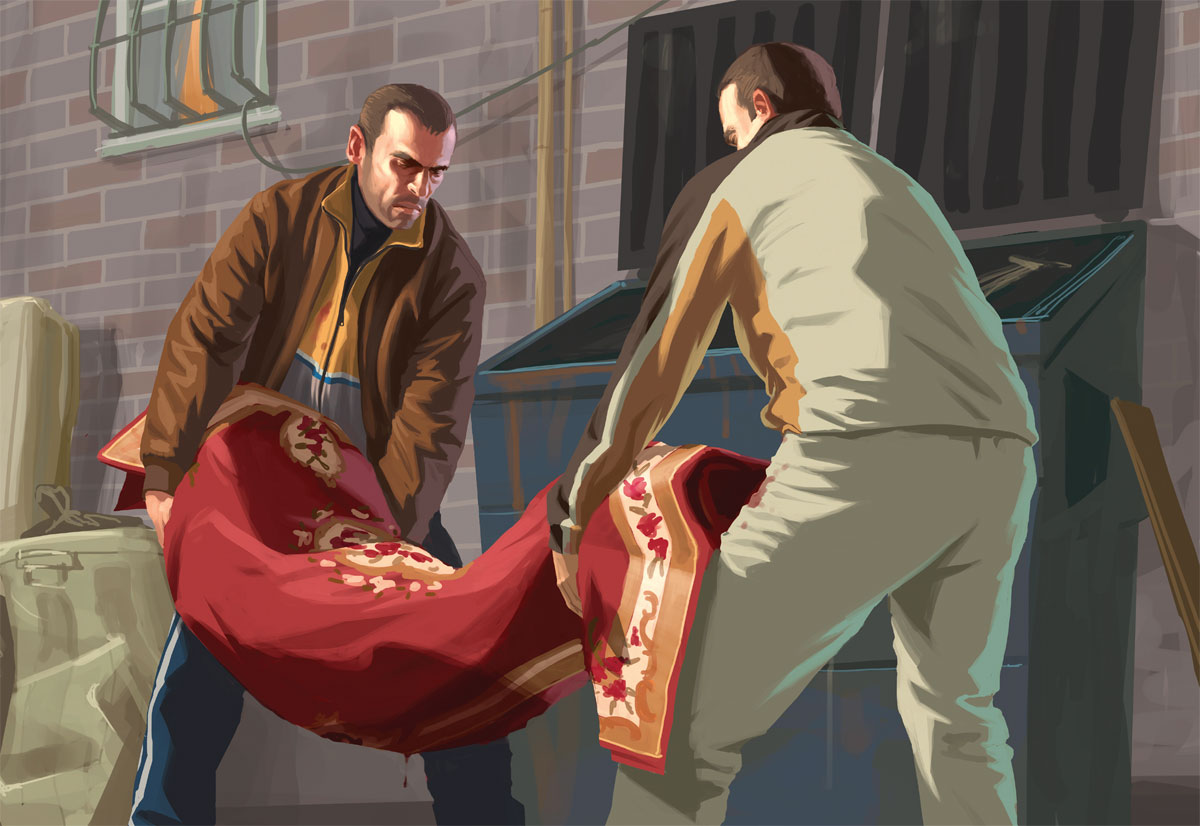 Cheats Design This Home Grand Theft Auto Iv Artwork Official Art Illustrations