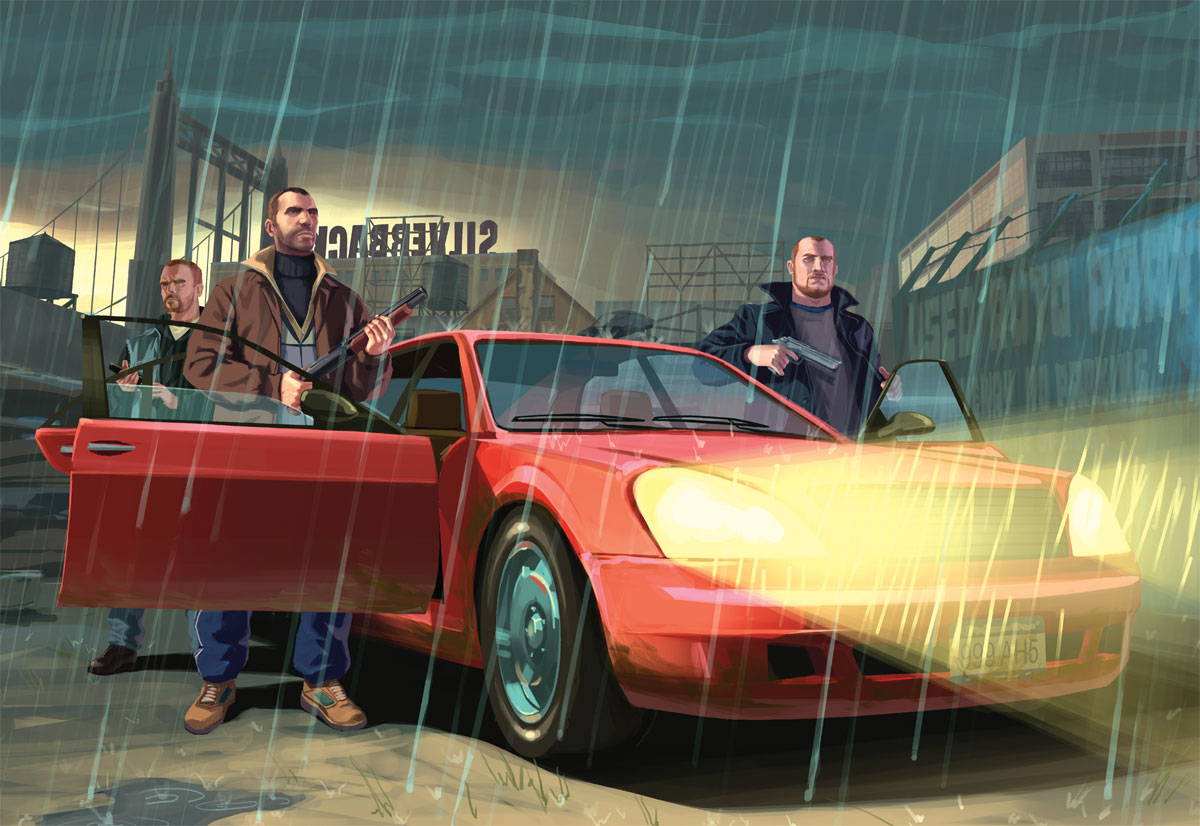 pics photos gta 4 wallpaper