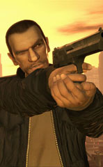 Niko Bellic, the main character.