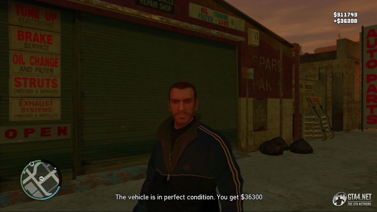 GRAND THEFT AUTO IV - Stevie's Text Message Vehicle Thefts