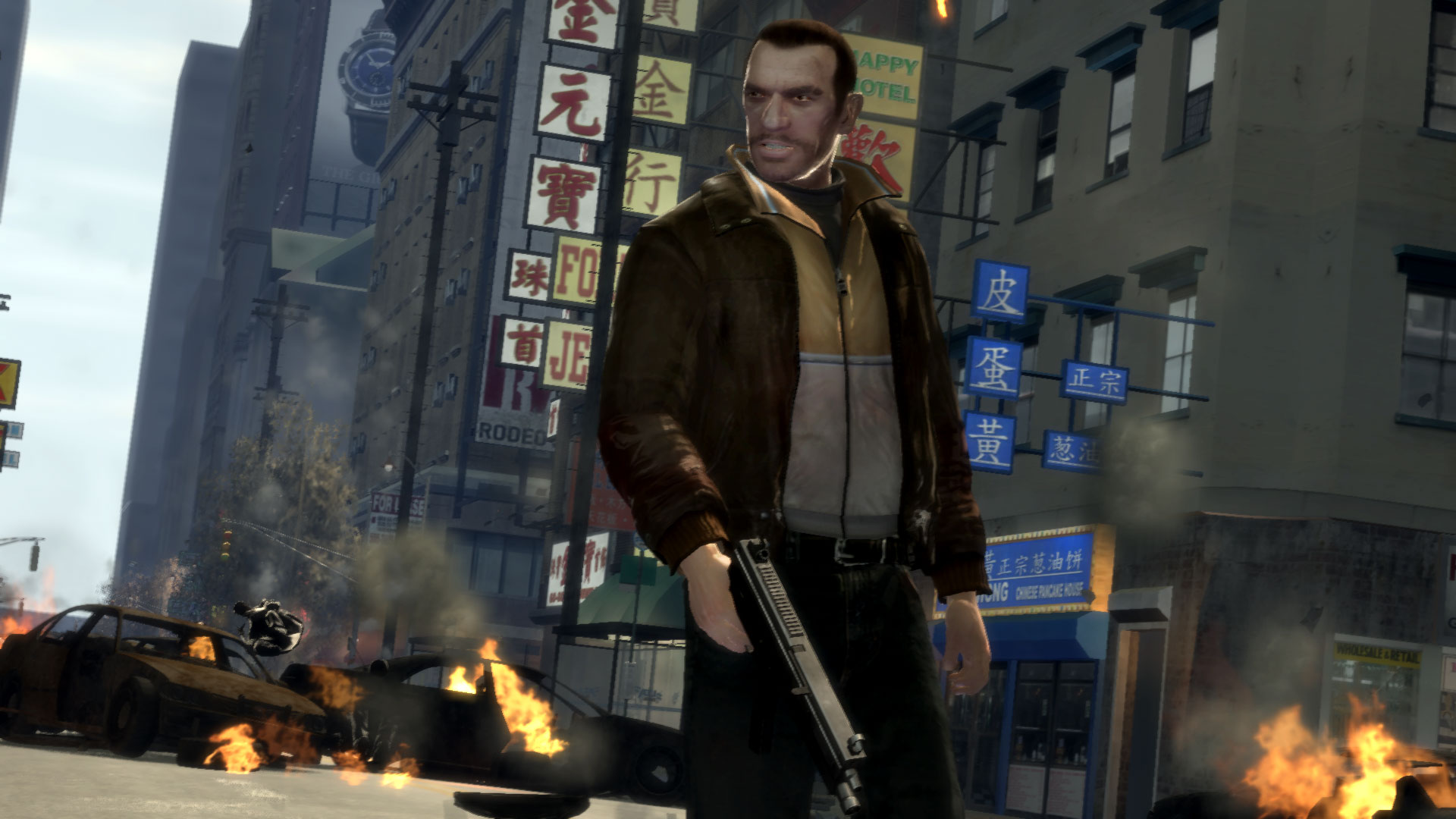 Gta iv pc screenshot