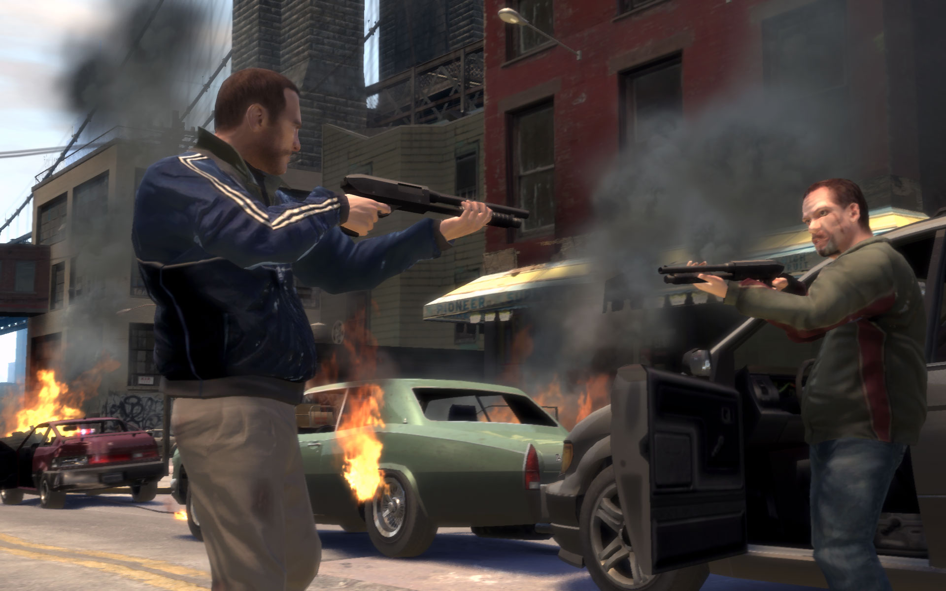 Download Game GTA IV Compressed 12MB Work PC