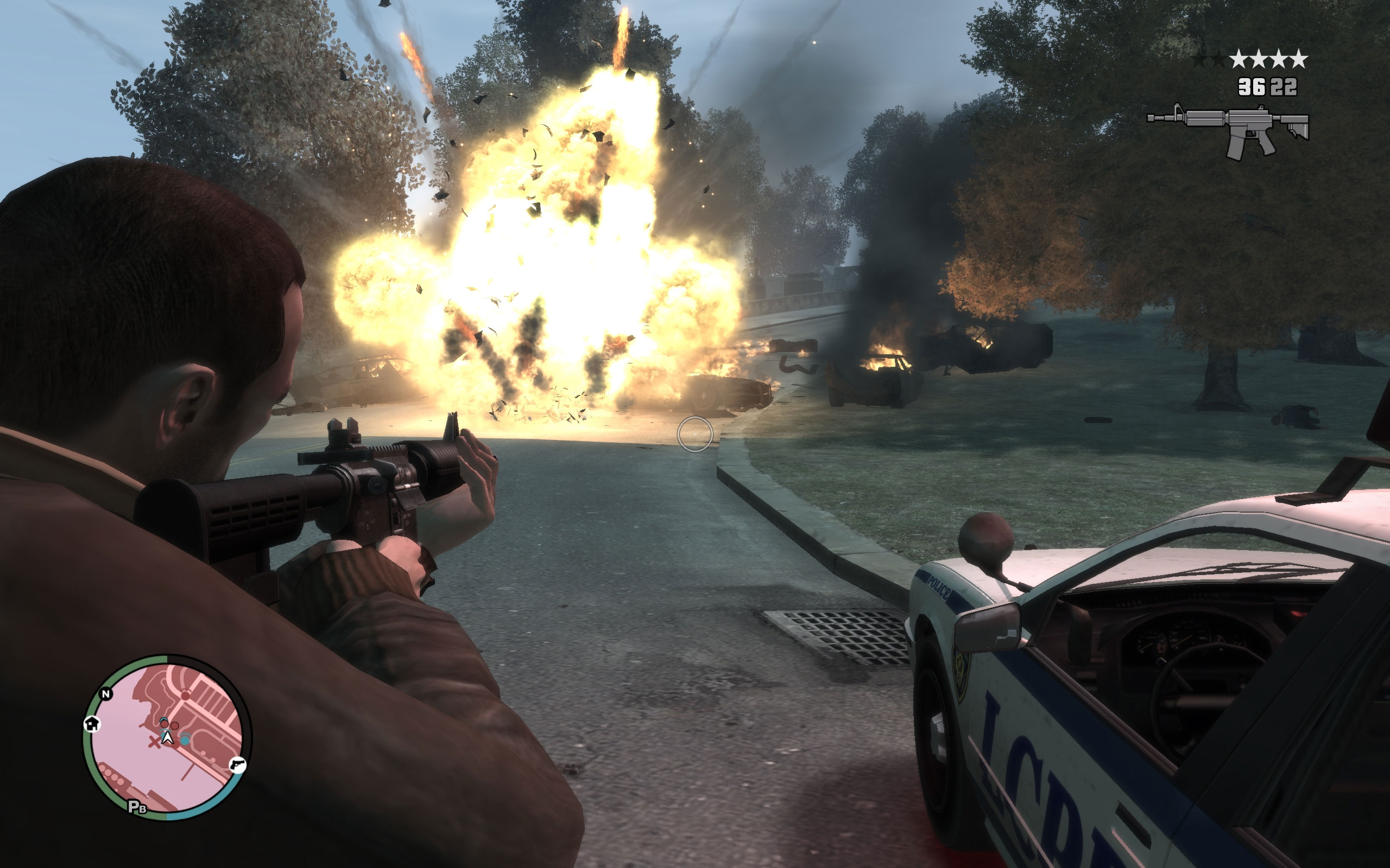 GRAND THEFT AUTO IV - Screenshots: PC Screens