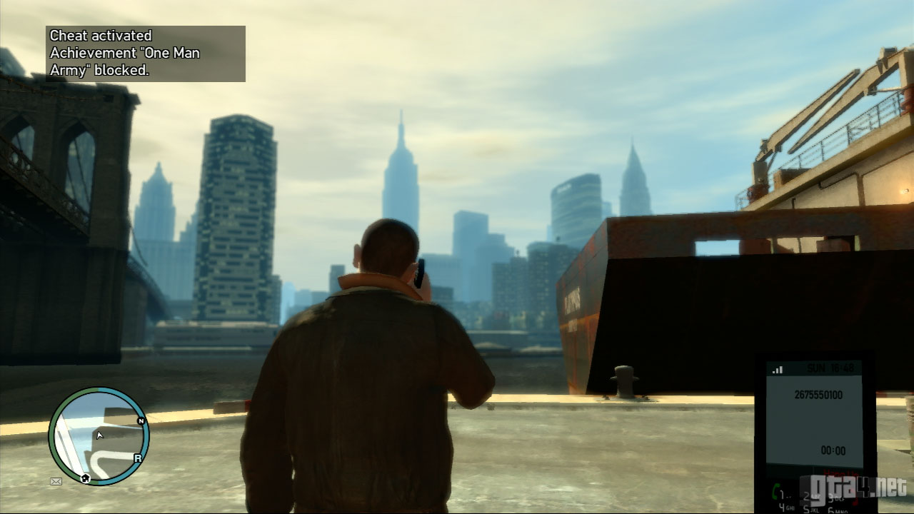 How to enter codes in GTA 4 82
