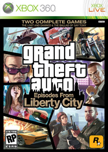 Grand Theft Auto IV TBOGT Box Art