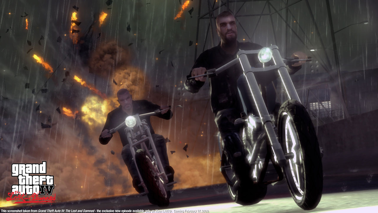 Gta iv tlad the lost and damned