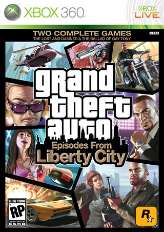 Episodes from Liberty City Box Art