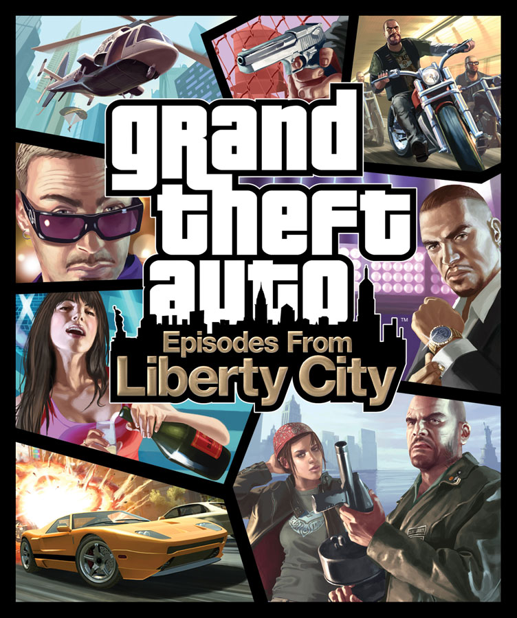 Gta iv episodes from liberty city box art