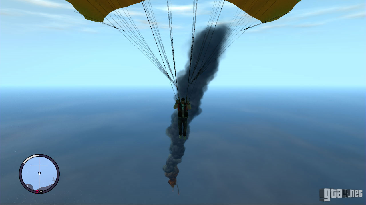 how to use parachute in gta 4 ps3