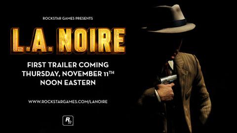 L.A. Noire Trailer Coming This Thursday