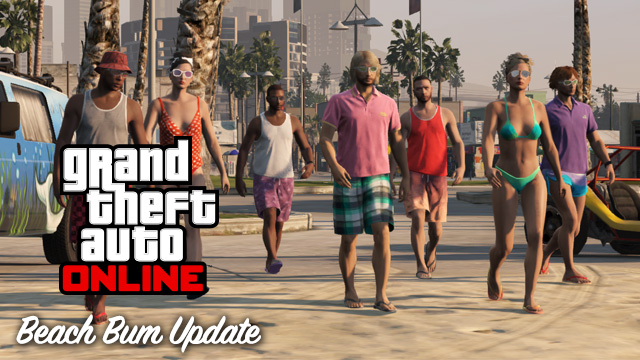 Beach Bum DLC disponible!