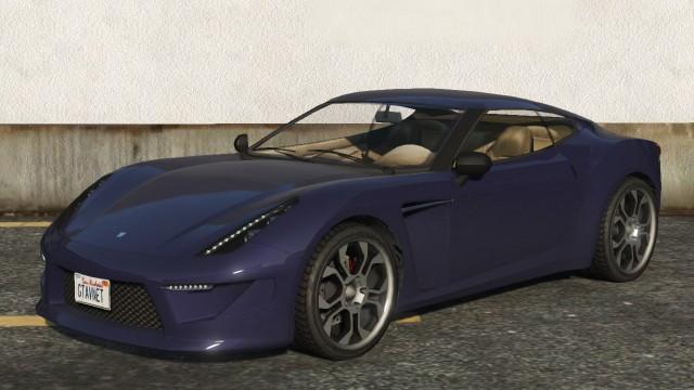 Grotti Carbonizzare GTA 5 Front