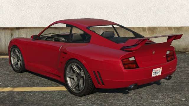 Pfister Comet GTA 5 Rear
