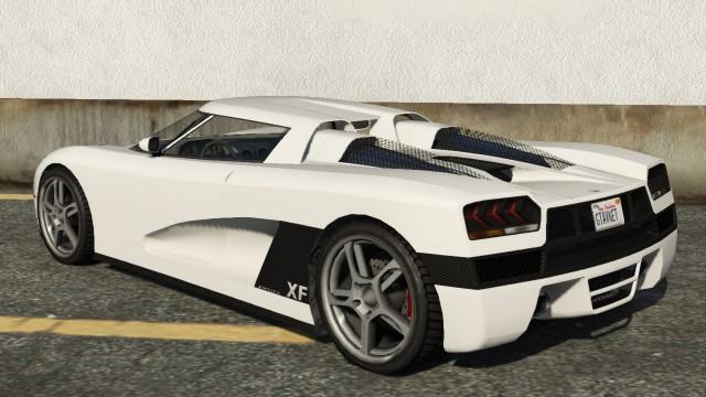 Entity XF GTA 5 Rear Quarter View