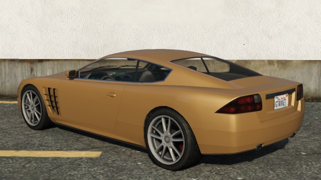 Ocelot F620 GTA 5 Rear