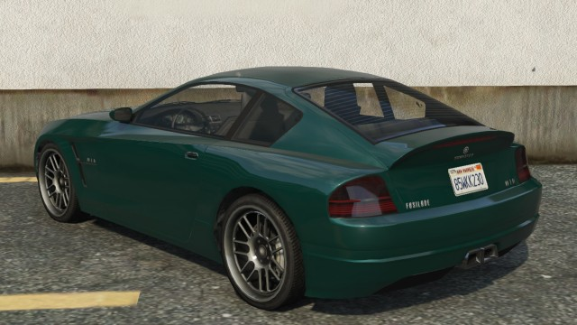 Fusilade GTA 5 Rear