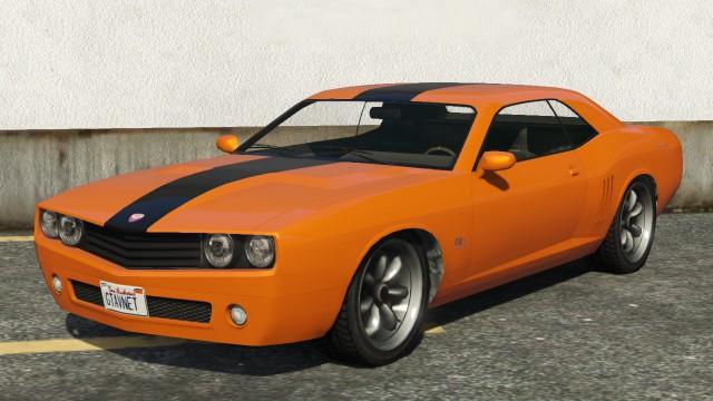 Bravado Gauntlet GTA 5 Front