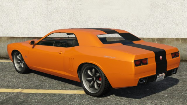 Bravado Gauntlet GTA 5 Rear