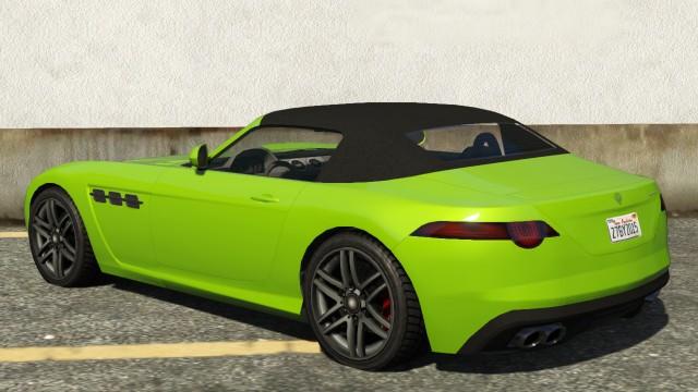 Surano GTA 5 Rear
