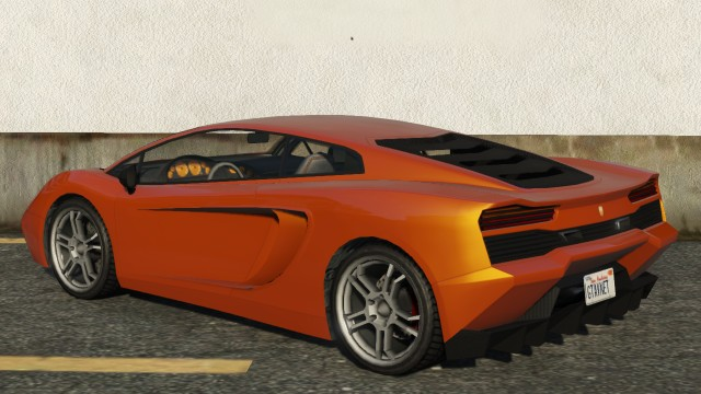 Pegassi Vacca GTA 5 Rear