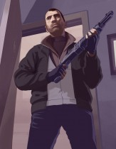 _gta_iv_artwork_niko_bellic_shotgun_purple