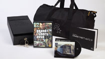 The contents of the Grand Theft Auto IV special edition.