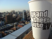 Grand Theft Auto IV Pre-Launch Party in NYC.
